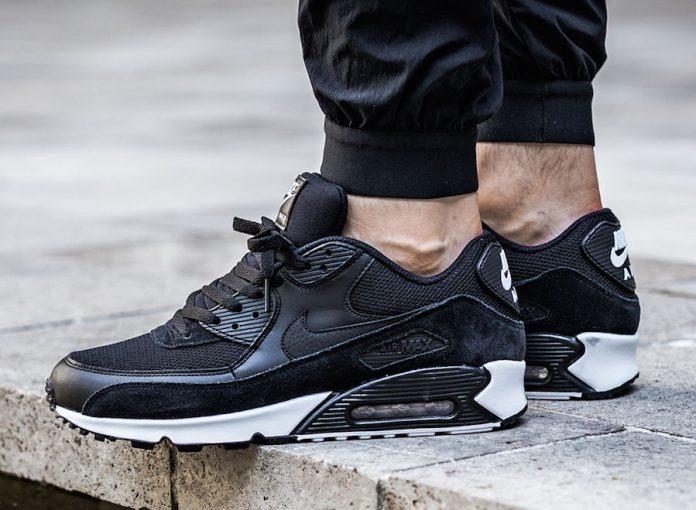 Zapatillas Nike Air Max 90 Essential Negro Nuevo 2018