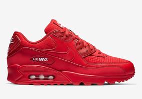 Nike air max 90 essential Negro rojo |