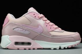 Zapatillas Nike Air Max 90 Essential Rosa Mujer