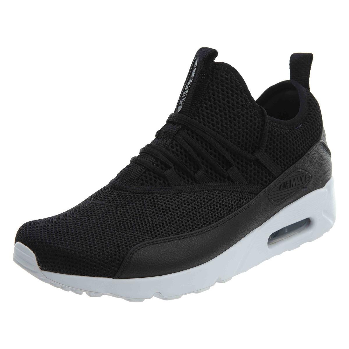 zapatillas air max hombre negras