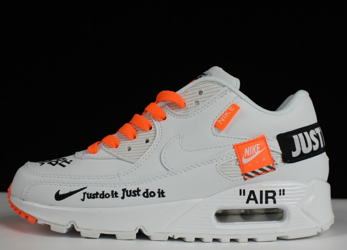 Zapatillas Nike Air Max 90 Just Do It Pure White