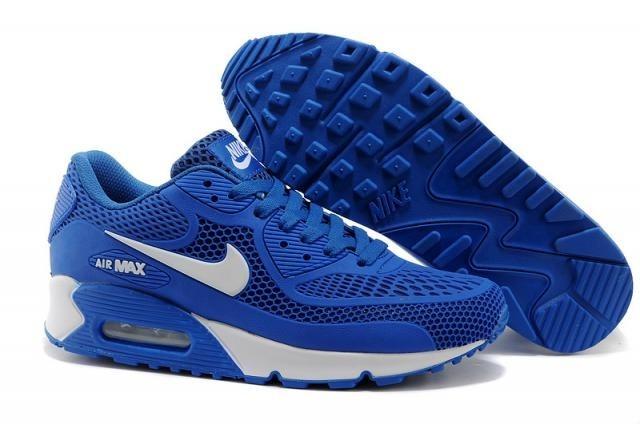 nike air max 90 azul hombre
