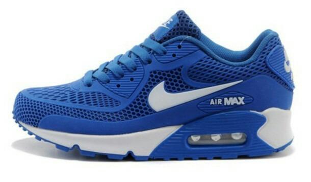 air max azules hombre