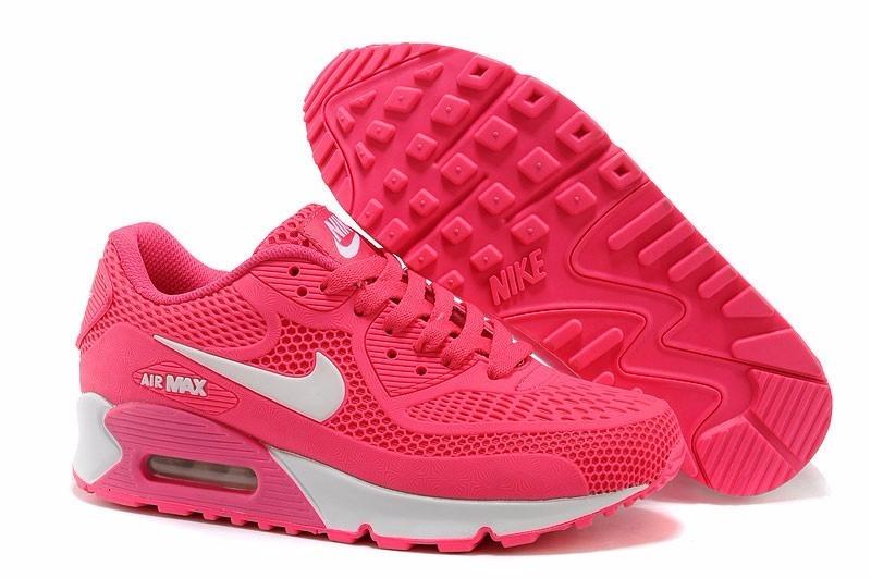 zapatillas nike air max rosadas