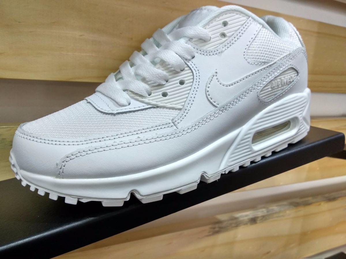 c758904f1c132 ... discount zapatillas nike air max 90 leather blancas original tienda. cargando  zoom. 4ca52 7583a