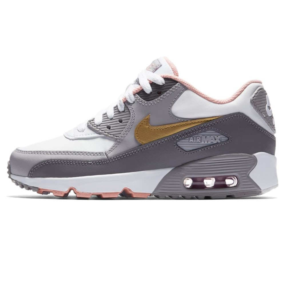 271a1c3740c5d zapatillas nike air max 90 leather gris niño. Cargando zoom.