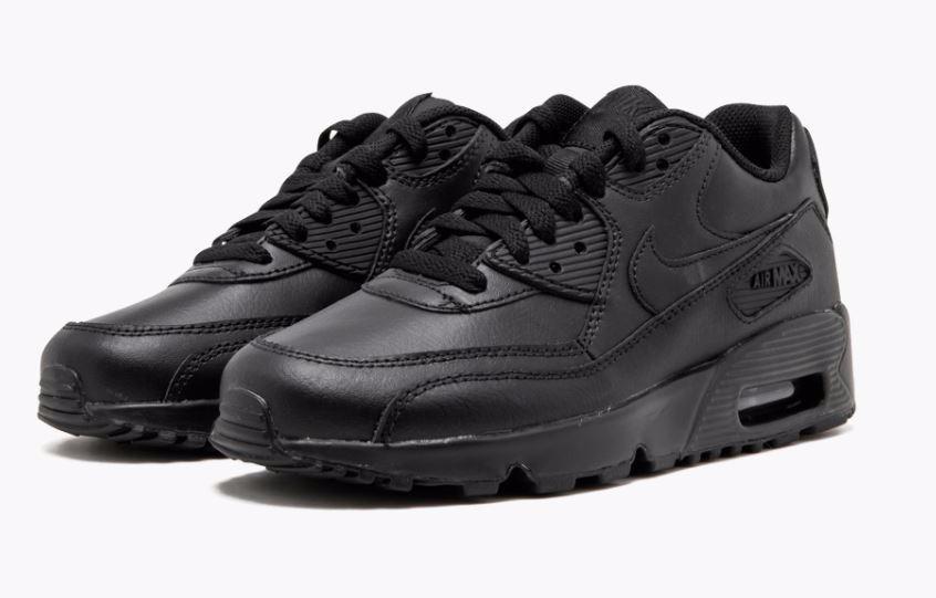 62aff464da13e ... sweden zapatillas nike air max 90 leather negras original tienda. cargando  zoom. 43a96 a86d4