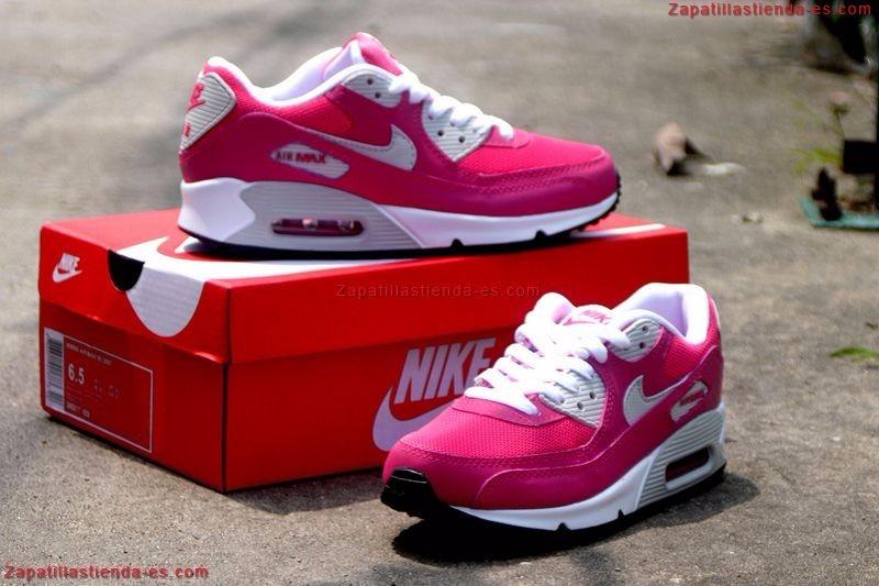 zapatillas nike air max 90 rosa