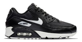 Zapatillas Nike Air Max 90 Negro + Blanco