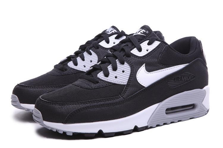 9fa6bbf628833 Zapatillas Nike Air Max 90 Negro Blanco Nuevo Original - S  379