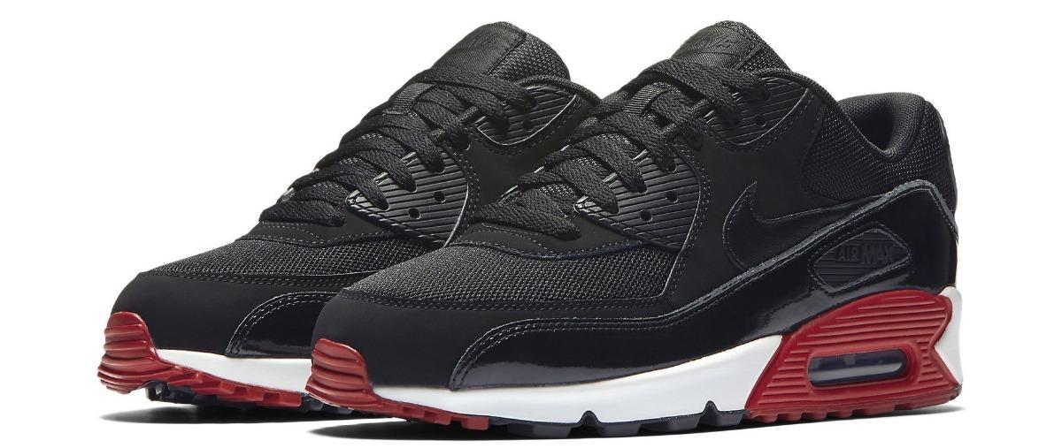 c83d3927aa211 zapatillas nike air max 90 negro rojo blanco    nuevo 2018. Cargando zoom.