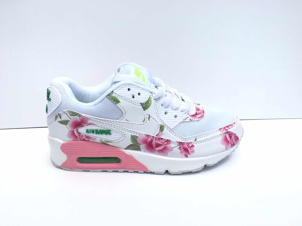21cc0c9758555 zapatillas nike air max 90 niña flores. Cargando zoom.