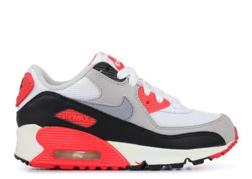 zapatillas nike air max 90 ps infrared niños