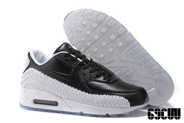 brand new 78101 76926 ... order zapatillas nike air max 90 trenzas black white 495d8 14db4