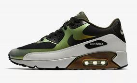 nike air max verde militar