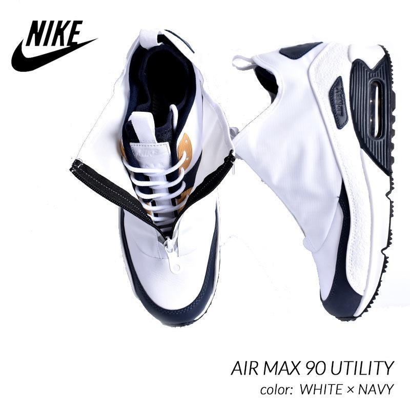 098734e3bb0 zapatillas nike air max 90 utility white and obsidian. Cargando zoom.