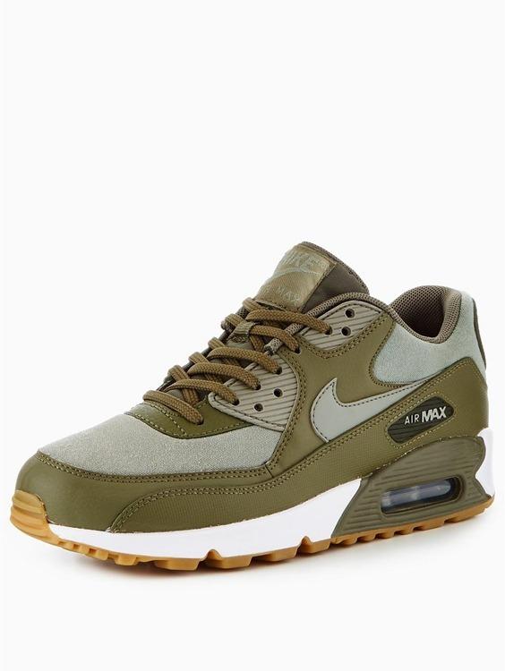 1b16543734d1a Zapatillas - Nike - Air Max 90 - Verde -   5.610