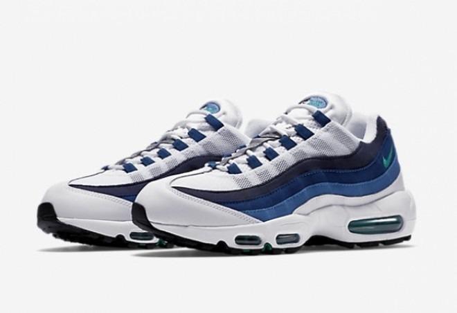 air max 95 azul