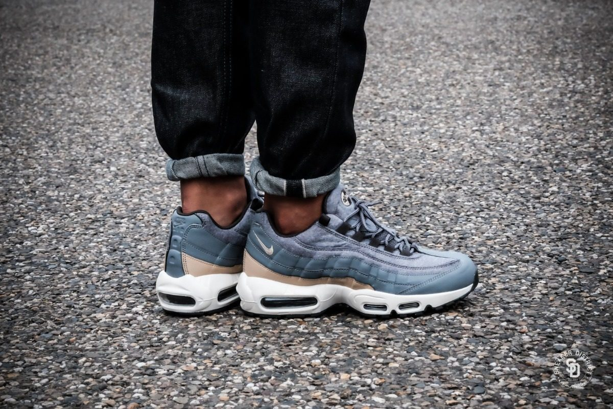 Zapatillas Nike Air Max 95 Premium Wool Grey 2018