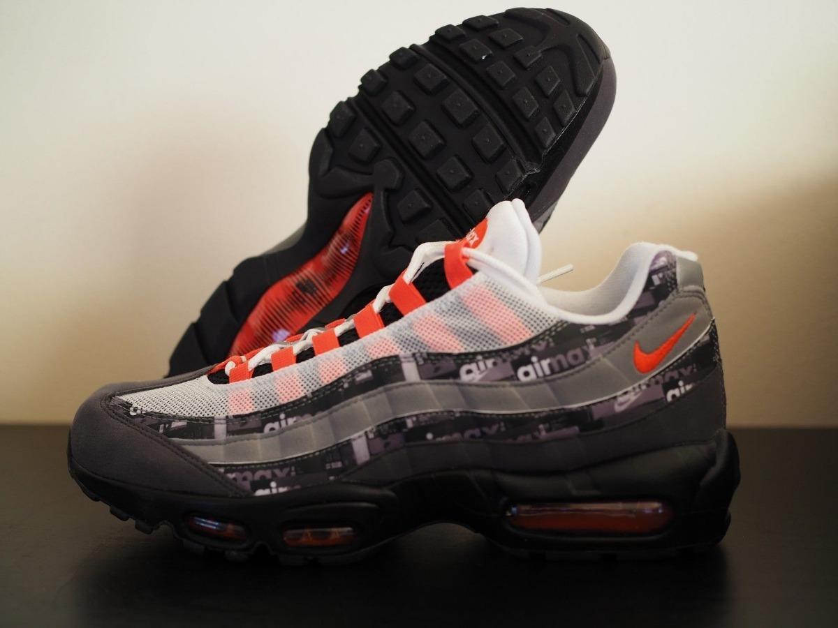 on sale ff9c0 8a5d0 Zapatillas Nike Air Max 95 Print X Atmos 100% Original