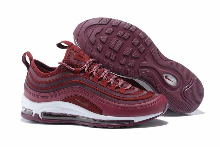 Zapatillas Nike Air Max 97 Bordo Importadas
