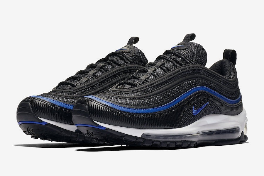 authentic nike air max 97 azul negro 083a7 93aa3