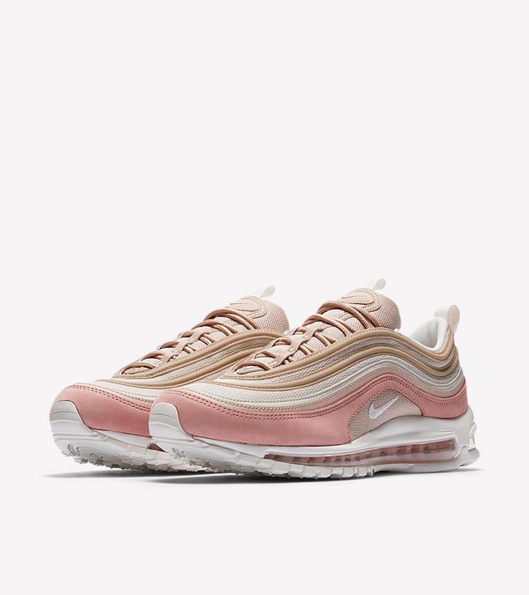 zapatillas nike air max 97 mujer rosa