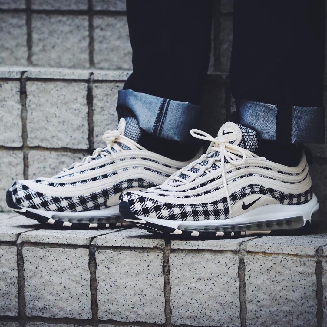 atarse en fuerte embalaje mas fiable nike air max 97 plaid light cream - Hunkie