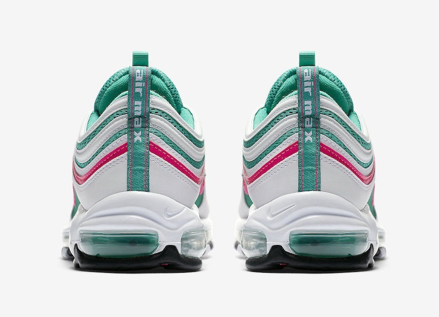 c3a57fdc4186 Zapatillas Nike Air Max 97 South Beach Miami Blanco    2018 - S  419 ...