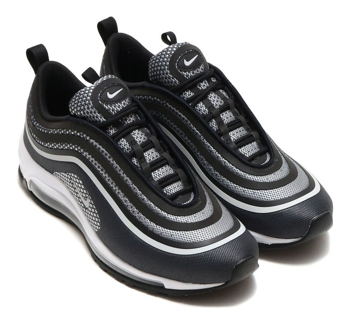 Men's Air Max 97 Ultra 17 Black Pure Platinum