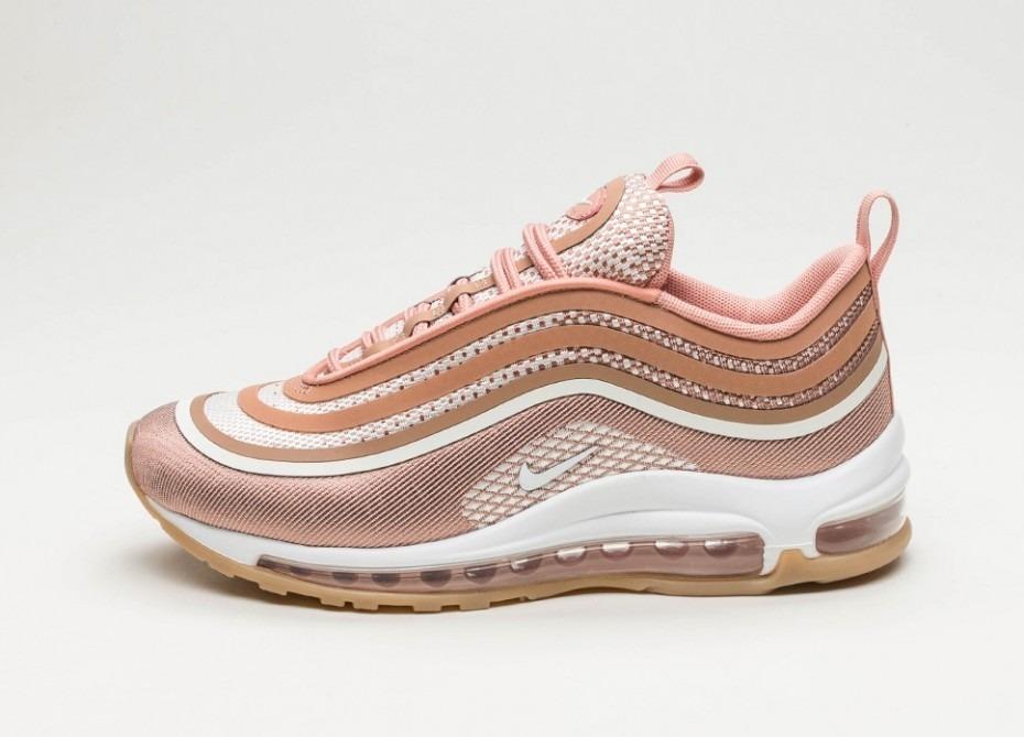 zapatillas nike air max 97 mujer rosas