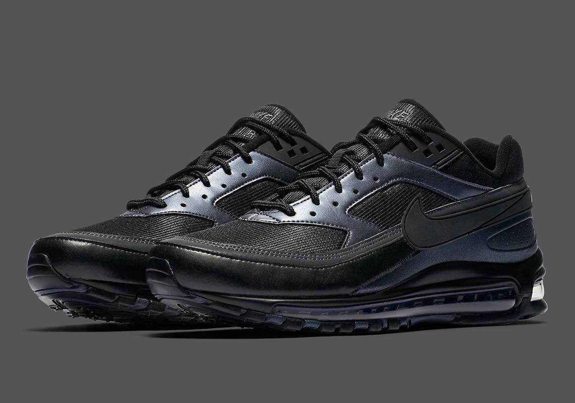 44438e998cc Zapatillas Nike Air Max 97 bw negro oferta t43 41