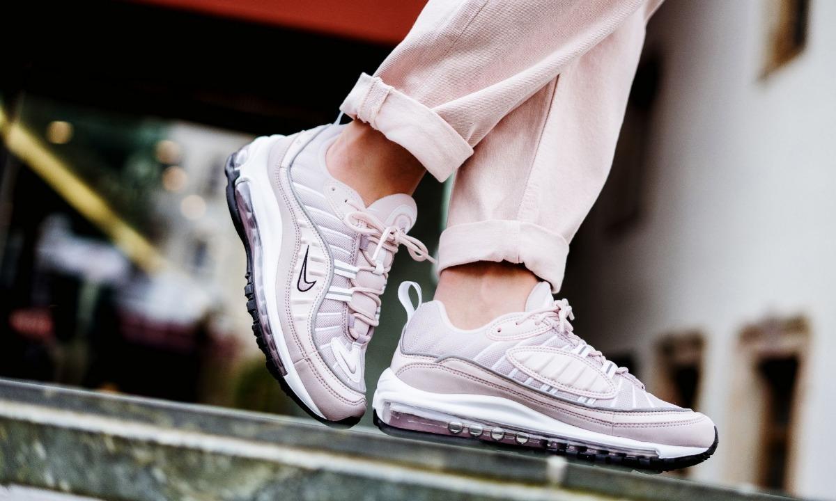 Zapatillas Nike Air Max 98 Barely Rose Rosado Nuevo 2018