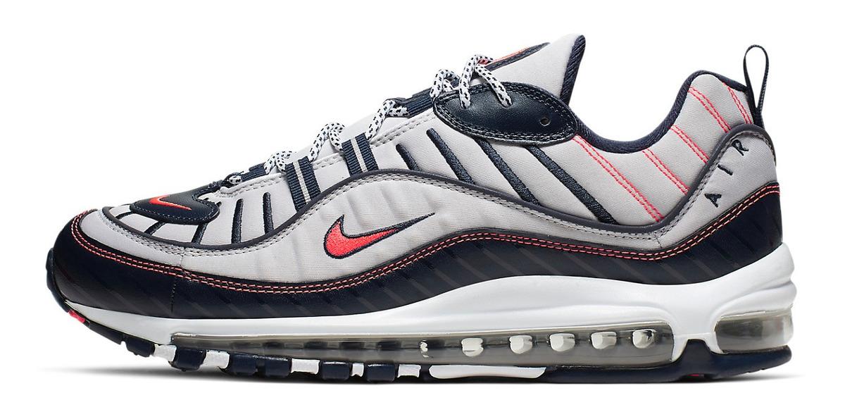 parte superior Zapatillas Nike Air Max 98 Para Hombre 100