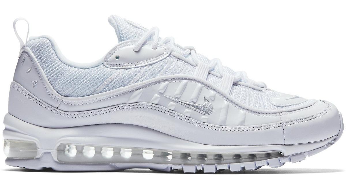 buy popular b168e 0ce5f Zapatillas Nike Air Max 98 Triple White A Pedido