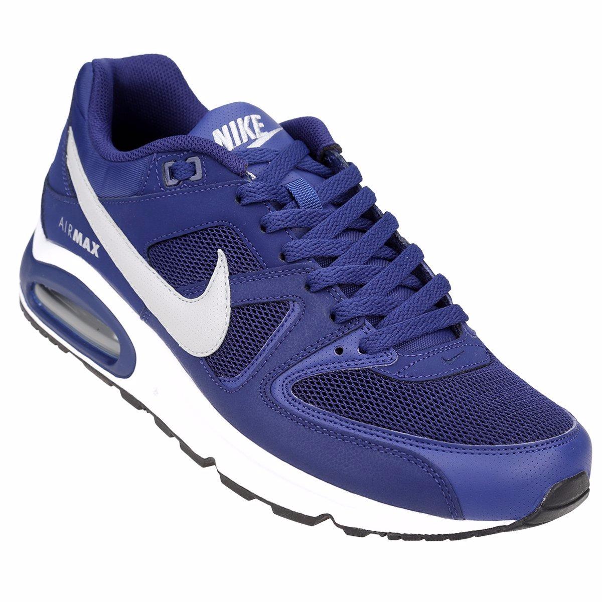 zapatillas nike air max azules hombre