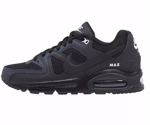 3a560d7be ... zapatillas nike air max command leather (negras orig. caja) ...