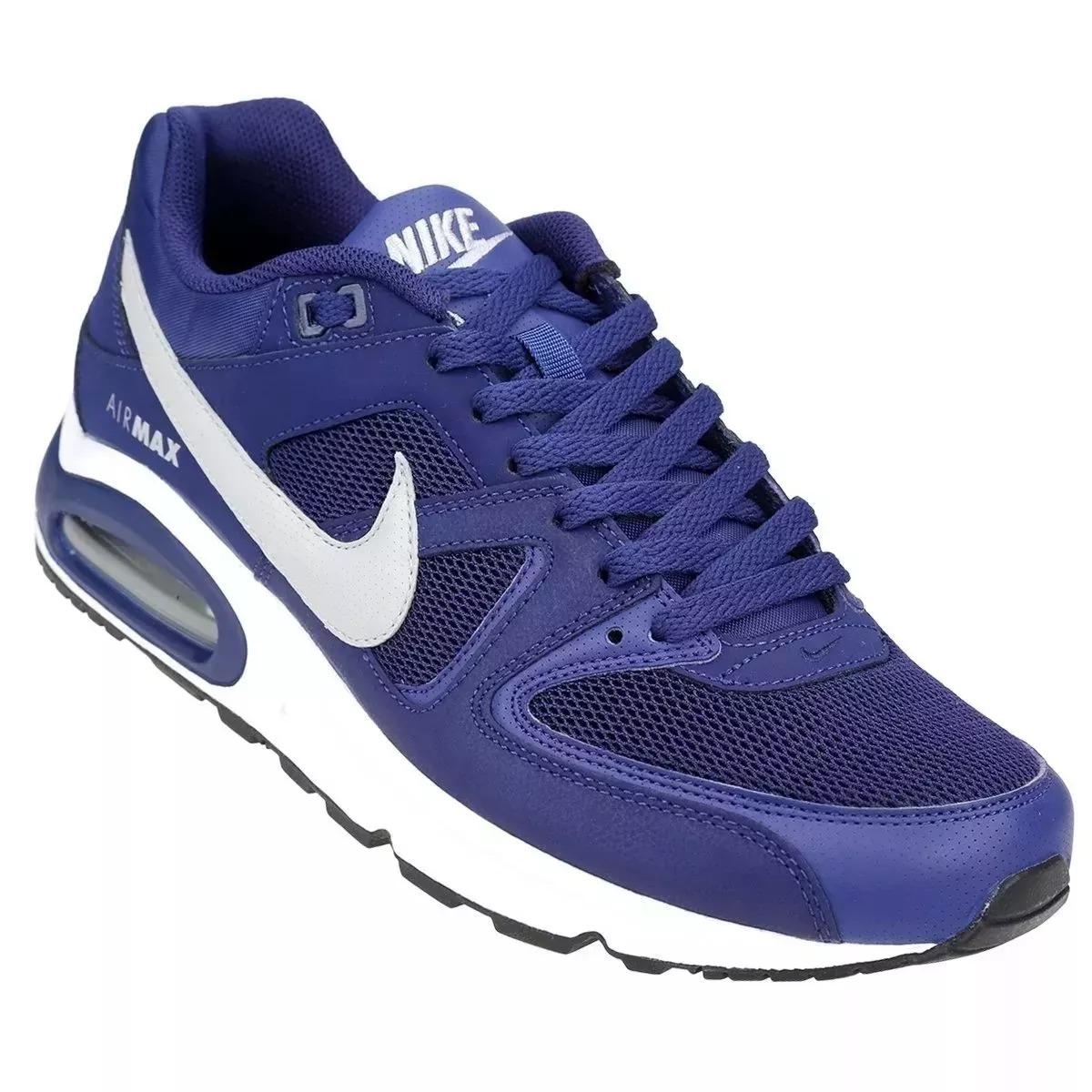 zapatillas air max hombre azules
