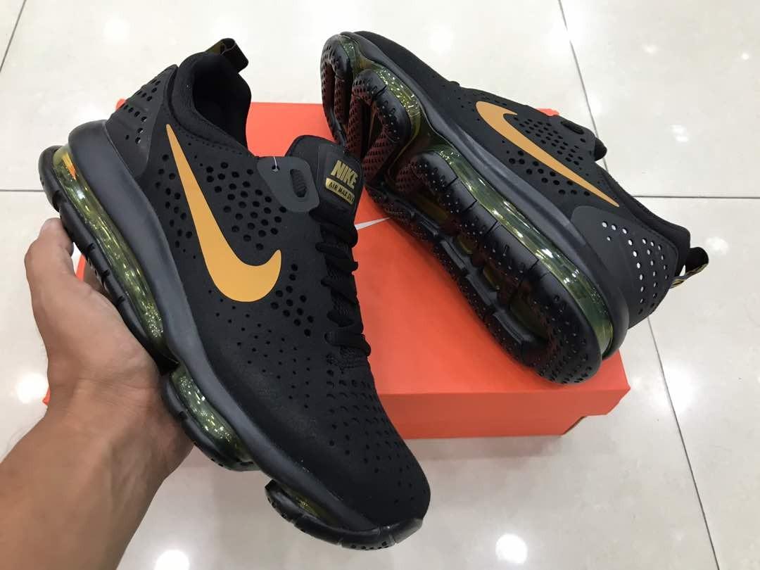 8751a313e52cc zapatillas nike air max dlx negras con dorado. Cargando zoom.