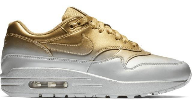 Zapatillas Nike Air Max Doradas Talle 37.5 Y 38 Originales