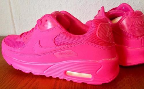 air max rosas fosforitas