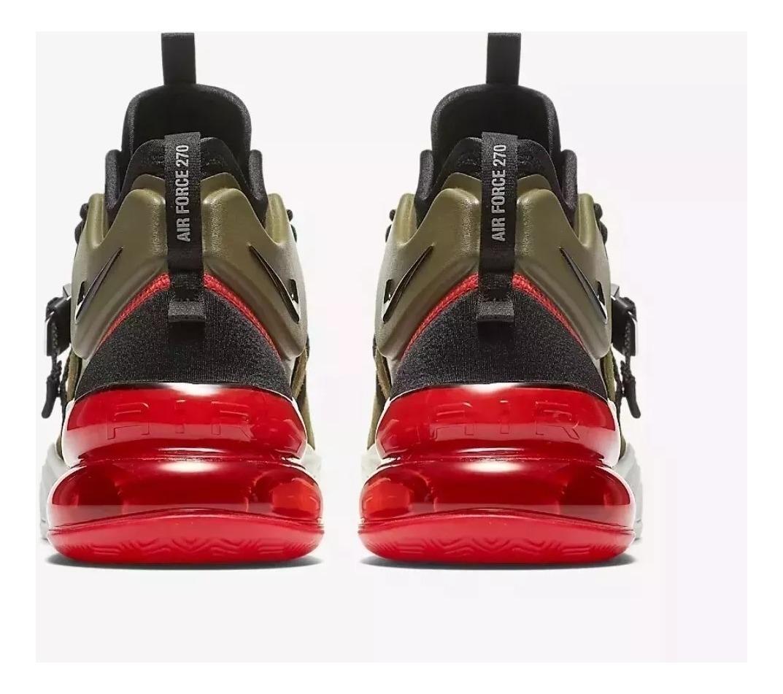 Zapatillas Nike Air Max Force 270 !! Medium Olive !! Unico