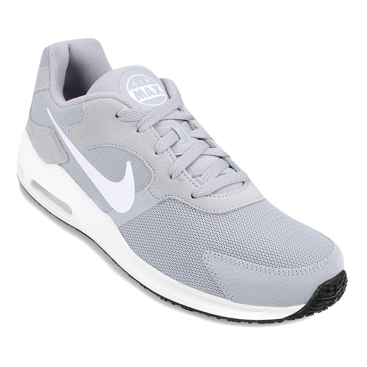 0881b74f17b zapatillas nike air max guile hombre - gris + blanco. Cargando zoom.