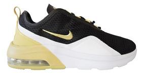 Zapatillas Nike Air Max Motion 2 Negro Y Dorado