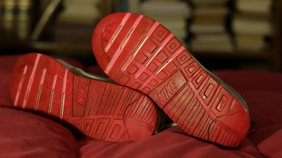 Zapatillas Nike Air Max Mujer Talle 39 Usadas Buen Estado $ 1.000,00