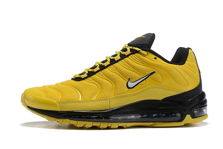 newest collection 4d58f 05362 zapatillas nike air max plus 97 amarillonegro unisex 36-39