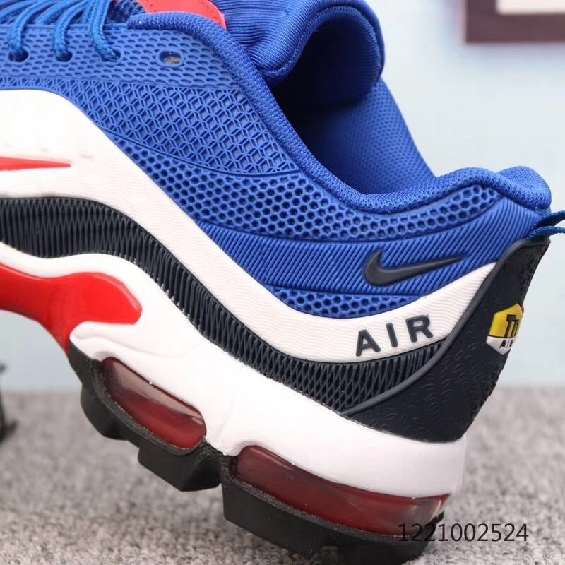 Nike Air Max Plus TN6 Grey black university red white Mens Winter Running Shoes NIKE ND010276