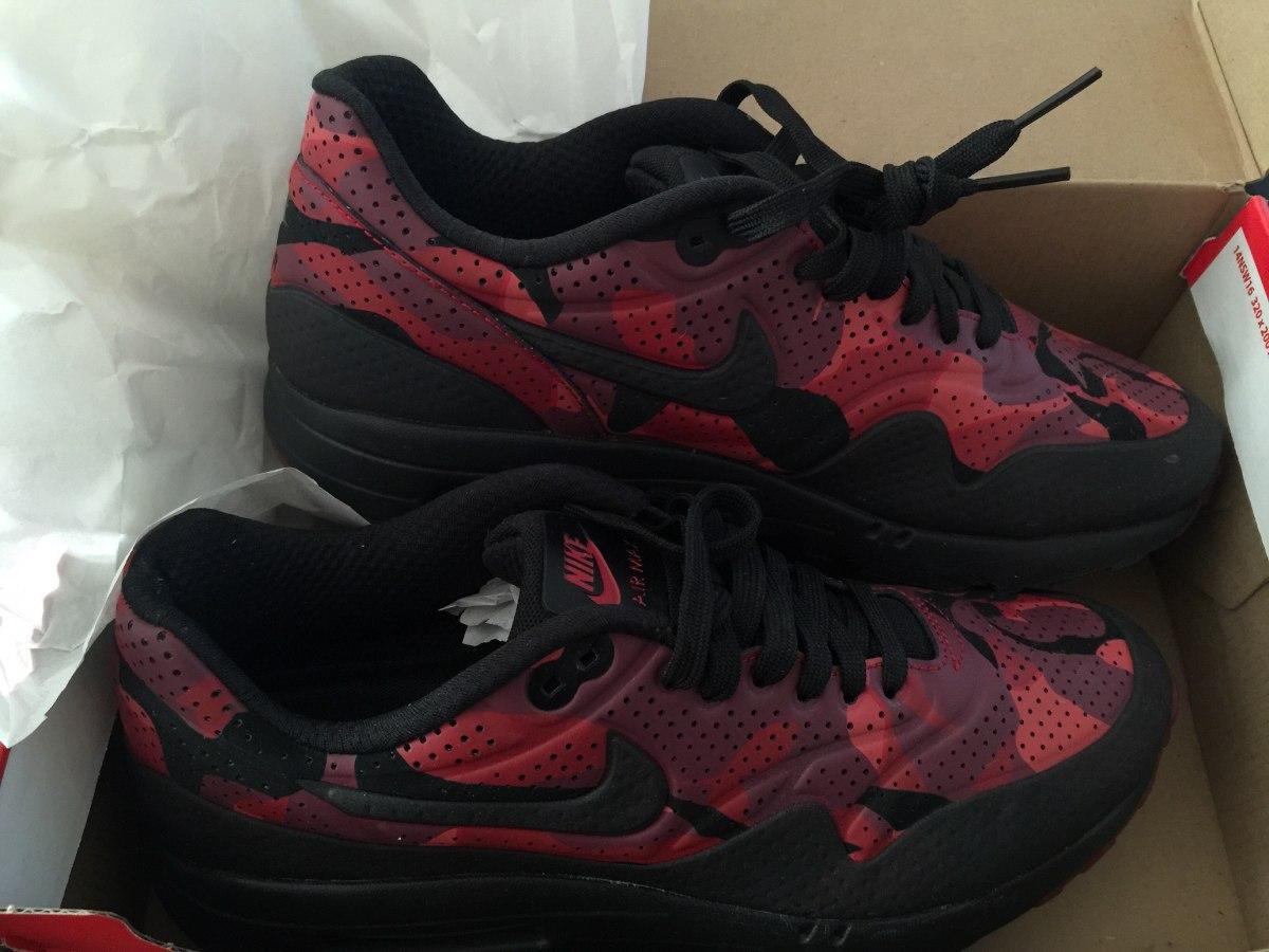 1783e3f1161 zapatillas nike air max rojas bordo negras hombre. Cargando zoom.