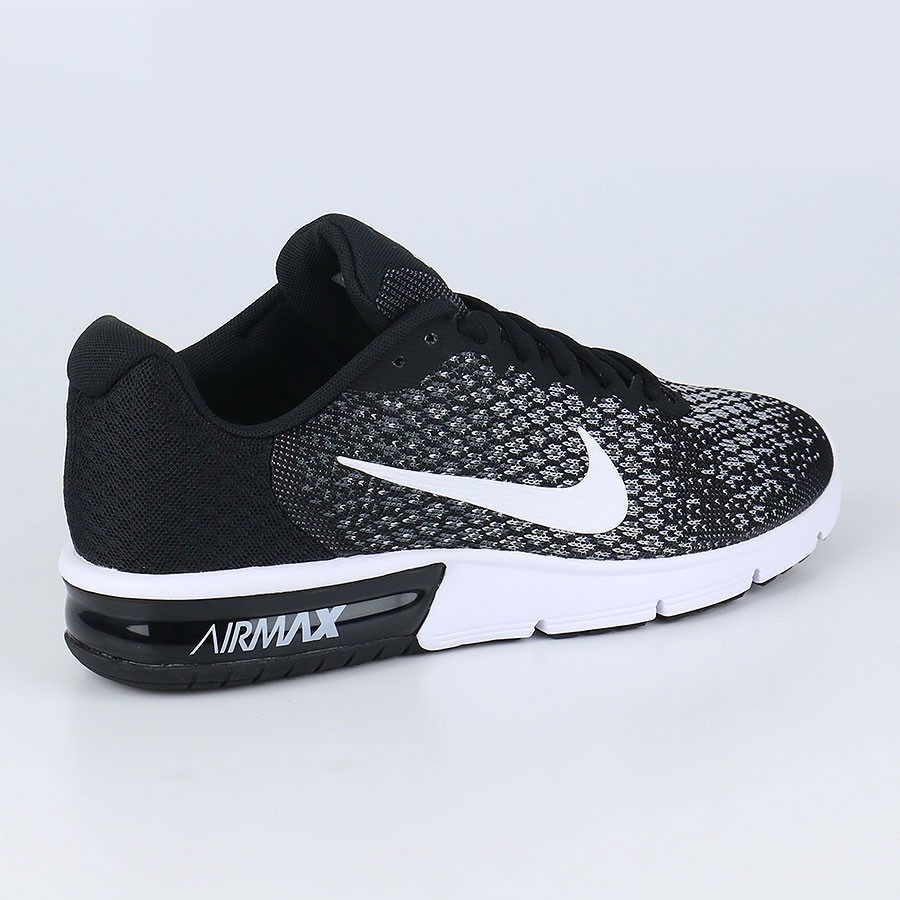 3b53624e Zapatillas Nike Air Max Sequent 2 Negras En Caja Ndph - S/ 399,00 en ...