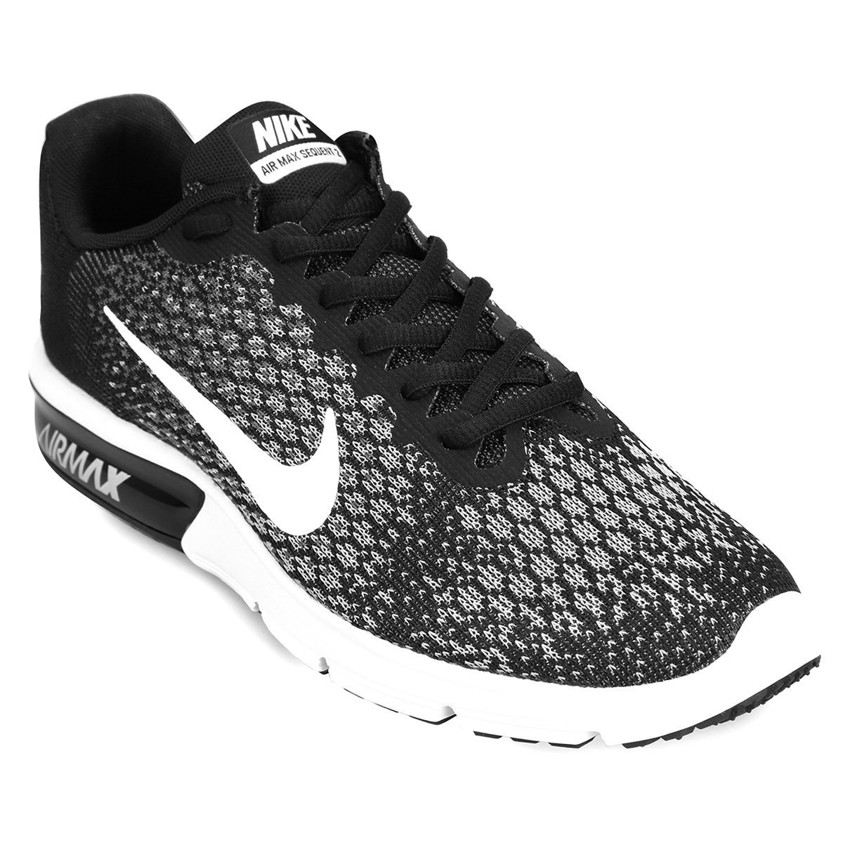 b94c9e27b50 Nike Zapatillas Descuento Negro Sequent 2 Air Preg Max dvPrxvU